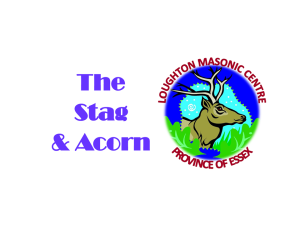 Stag and Acorn